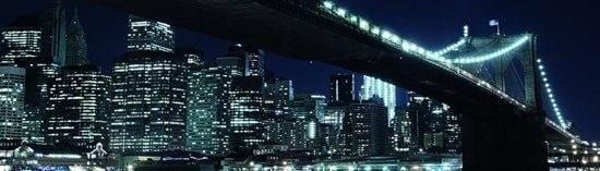 Papermoon Brooklyn Bridge Vlies Fototapete 350x100cm