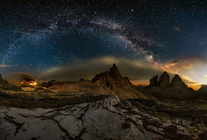 Wizard+Genius Galaxy Dolomites Vlies Fototapete 384x260cm 8-bahnen | Yourdecoration.de