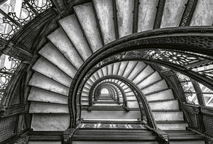 Wizard+Genius Old Stairs Vlies Fototapete 384x260cm 8-bahnen | Yourdecoration.de