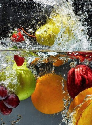 Wizard+Genius Refreshing Fruit Vlies Fototapete 192x260cm 4-bahnen | Yourdecoration.de