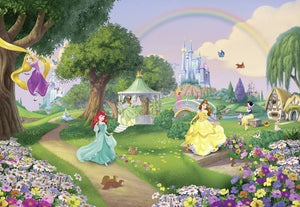 Komar Disney Princess Rainbow Fototapete 368x254cm | Yourdecoration.de