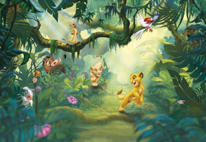 Komar The Lion King Jungle Fototapete 368x254cm | Yourdecoration.de