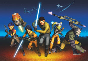 Komar Star Wars Rebels Run Fototapete 368x254cm | Yourdecoration.de