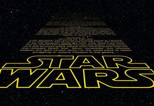 Komar Star Wars Intro Fototapete 368x254cm | Yourdecoration.de