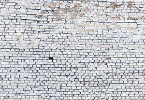 Komar White Brick Fototapete 368x254cm | Yourdecoration.de