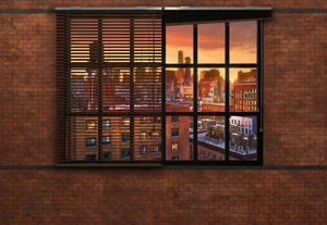 Komar Brooklyn Brick Fototapete 368x254cm | Yourdecoration.de