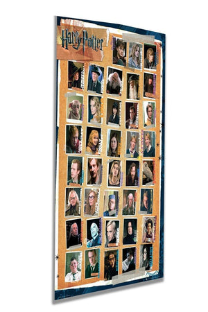 GBeye Harry Potter 7 Characters Deco Panel 60x90cm Schuin | Yourdecoration.nl