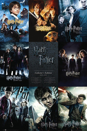 GBeye Harry Potter Collection Poster 61x91,5cm | Yourdecoration.de
