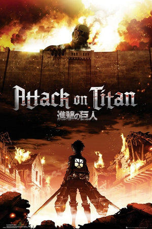 GBeye Attack on Titan Key Art Poster 61x91,5cm | Yourdecoration.de