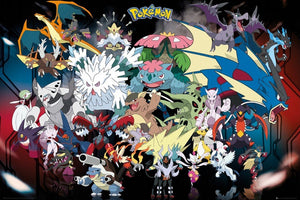 GBeye Pokemon Mega Poster 91,5x61cm | Yourdecoration.de