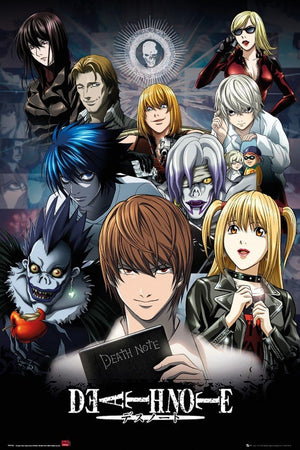 GBeye Death Note Collage Poster 61x91,5cm | Yourdecoration.de