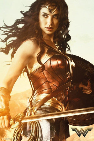 GBeye Wonder Woman Sword Poster 61x91,5cm | Yourdecoration.de