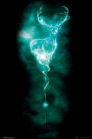 GBeye Harry Potter Patronus Stag Poster 61x91,5cm | Yourdecoration.de