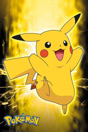 GBeye Pokemon Pikachu Neon Poster 61x91,5cm | Yourdecoration.de