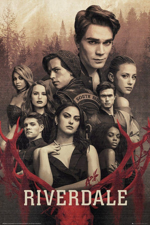 GBeye Riverdale Season 3 Key Art Poster 61x91,5cm | Yourdecoration.de