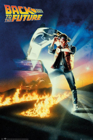 GBeye Back to the Future Key Art Poster 61x91,5cm | Yourdecoration.de