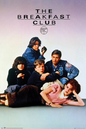 GBeye The Breakfast Club Key Art Poster 61x91,5cm | Yourdecoration.de