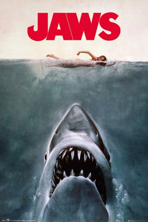 GBeye Jaws Key Art Poster 61x91,5cm | Yourdecoration.de