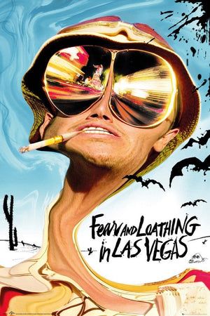 GBeye Fear and Loathing in Las Vegas Key Art Poster 61x91,5cm | Yourdecoration.de