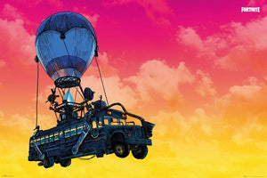 GBeye Fortnite Battle Bus Poster 91,5x61cm | Yourdecoration.de