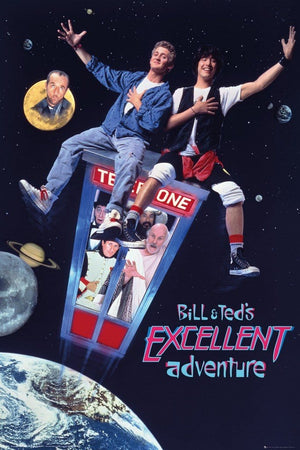 GBeye Bill and Ted Excellent Adventure Poster 61x91,5cm | Yourdecoration.de