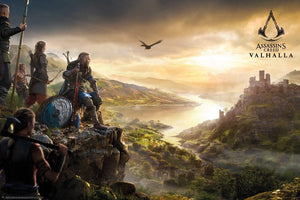 GBeye Assassins Creed Valhalla Vista Poster 91,5x61cm | Yourdecoration.de
