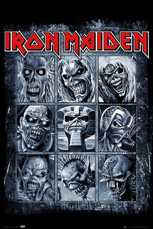 GBeye Iron Maiden Eddies Poster 61x91,5cm | Yourdecoration.de