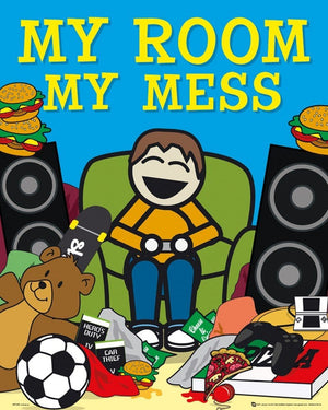 GBeye My Room My Mess Poster 40x50cm | Yourdecoration.de