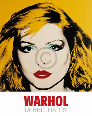 Andy Warhol - Debbie Harry 1980 Kunstdruck 90x114cm | Yourdecoration.de