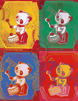 Andy Warhol - Four Pandas 1983 Kunstdruck 65x84cm | Yourdecoration.de