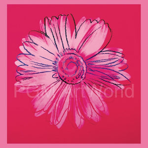 Andy Warhol - Daisy 1982 Kunstdruck 90x90cm | Yourdecoration.de