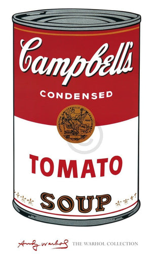 Andy Warhol - Campbell's Soup I Kunstdruck 61x101cm | Yourdecoration.de