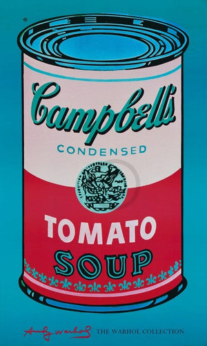 Andy Warhol - Campbell's Soup Kunstdruck 60x100cm | Yourdecoration.de