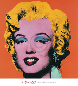 Andy Warhol - Shot Orange Marilyn Kunstdruck 65x71cm | Yourdecoration.de