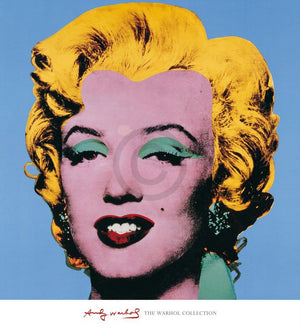 Andy Warhol - Shot Blue Marilyn Kunstdruck 65x71cm | Yourdecoration.de
