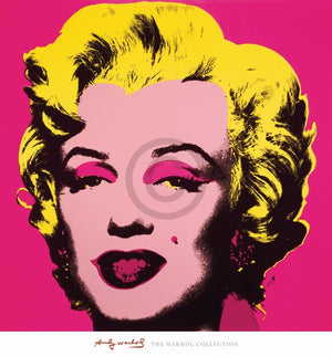 Andy Warhol - Marilyn MonroeHot Pink Kunstdruck 65x70cm | Yourdecoration.de