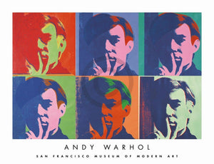 Andy Warhol - A Set of Six Self-Portraits Kunstdruck 86x66cm | Yourdecoration.de