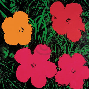 Andy Warhol - Flowers C. 1964 Kunstdruck 60x60cm | Yourdecoration.de