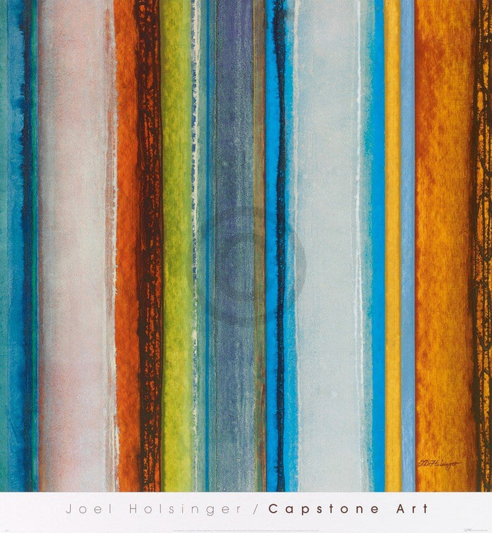 Joel Holsinger - Color Sequence I Kunstdruck 61x66cm