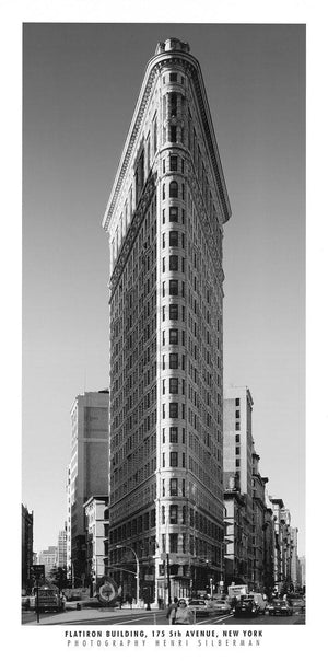Henri Silberman - Flatiron Building Kunstdruck 50x100cm | Yourdecoration.de