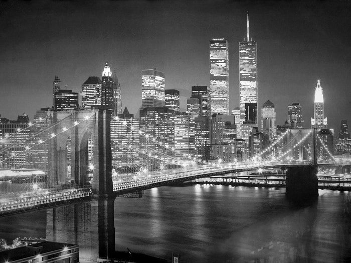 Henri Silberman - Brooklyn Bridge Kunstdruck 80x60cm