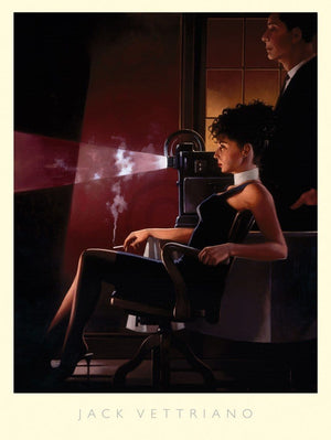 Jack Vettriano - An Imperfect Past Kunstdruck 60x80cm | Yourdecoration.de