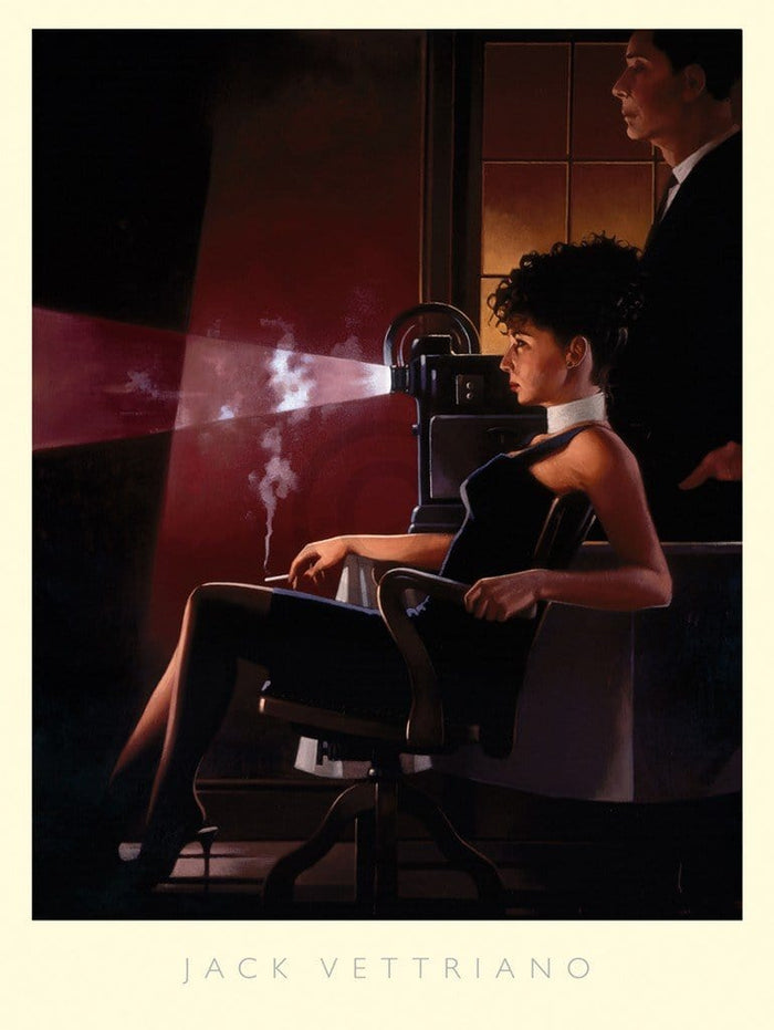 Jack Vettriano - An Imperfect Past Kunstdruck 60x80cm