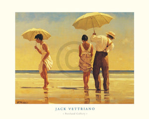 Jack Vettriano - Mad Dogs Kunstdruck 80x60cm | Yourdecoration.de