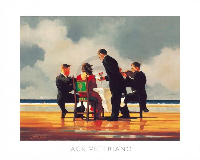 Jack Vettriano - Elegy for The Dead Admiral Kunstdruck 50x40cm