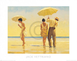 Jack Vettriano - Mad Dogs Kunstdruck 50x40cm | Yourdecoration.de