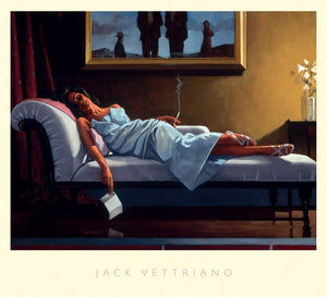 Jack Vettriano - The Letter Kunstdruck 76x68cm | Yourdecoration.de