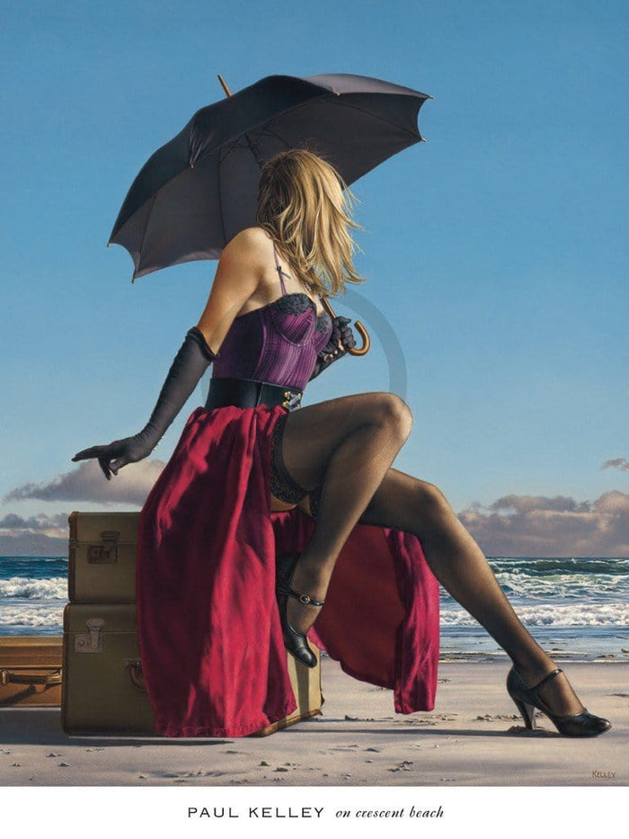 Paul Kelley - On Crescent Beach Kunstdruck 61x81cm