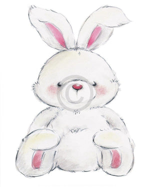 Makiko - Rabbit Kunstdruck 24x30cm | Yourdecoration.de