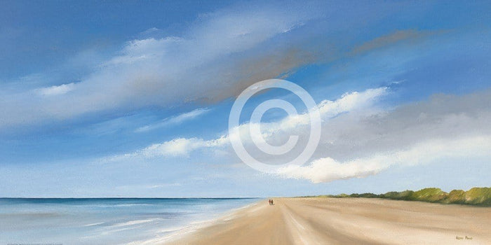Hans Paus - Along the Sea I Kunstdruck 100x50cm